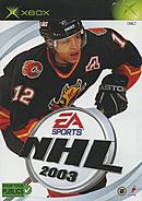 jaquette Xbox NHL 2003