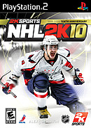jaquette PlayStation 2 NHL 2K10