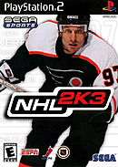 jaquette PlayStation 2 NHL 2K3