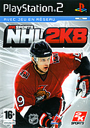 jaquette PlayStation 2 NHL 2K8