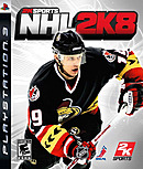 jaquette PlayStation 3 NHL 2K8