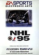 jaquette Megadrive NHL 95