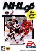 jaquette Megadrive NHL 96