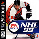 jaquette PlayStation 1 NHL 99