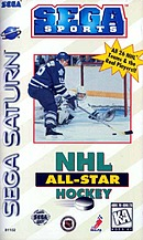 jaquette Saturn NHL All Star Hockey