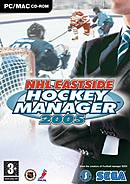 jaquette PC NHL Eastside Hockey Manager 2005