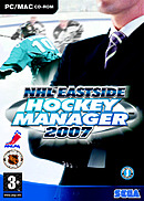 jaquette Mac NHL Eastside Hockey Manager 2007