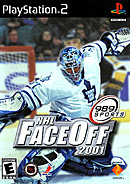 jaquette PlayStation 2 NHL FaceOff 2001
