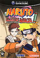 jaquette Gamecube Naruto Clash Of Ninja European Version