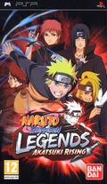 jaquette PSP Naruto Shippuden Legends Akatsuki Rising