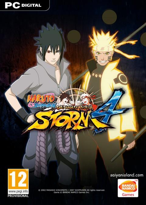 jaquette PC Naruto Shippuden Ultimate Ninja Storm 4
