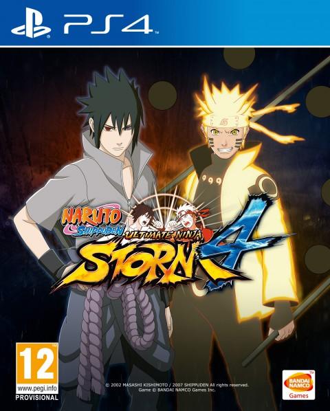 jaquette PlayStation 4 Naruto Shippuden Ultimate Ninja Storm 4