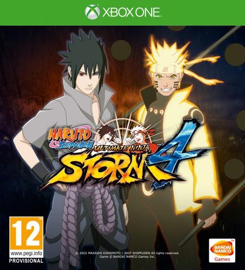 jaquette Xbox One Naruto Shippuden Ultimate Ninja Storm 4
