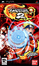 jaquette PSP Naruto Ultimate Ninja Heroes 2 The Phantom Fortress
