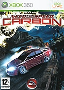 jaquette Xbox 360 Need For Speed Carbon