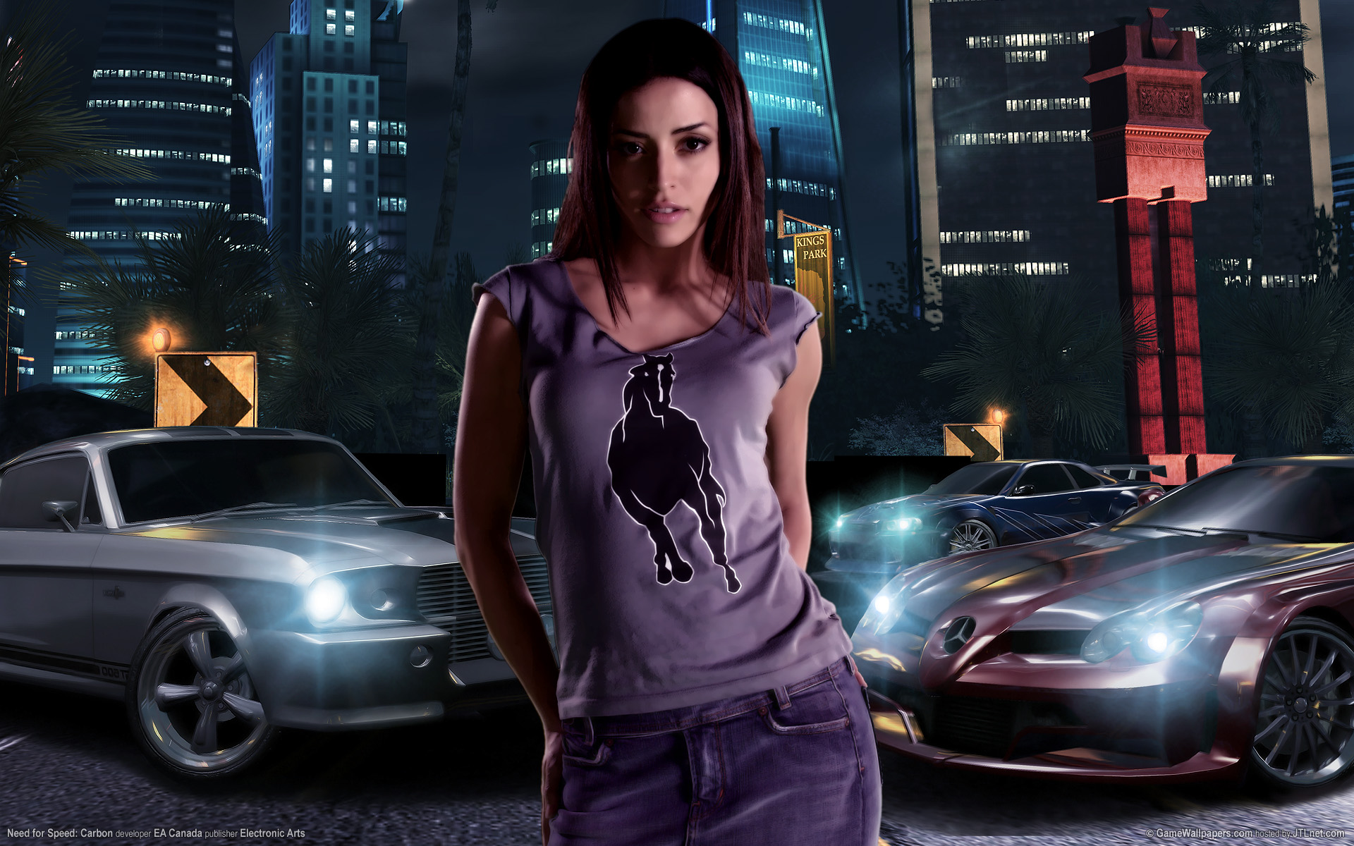 Wallpapers fond d 39 ecran pour need for speed carbon pc - Need for speed underground 1 wallpaper ...