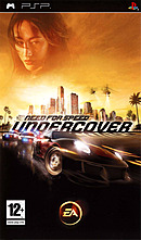jaquette PSP Need For Speed Undercover