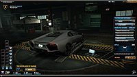 Need For Speed World Lamborghini reventon arriere