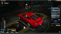 Need For Speed World Porche 911 GT2 997 arriere