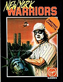 jaquette Amstrad CPC New York Warriors
