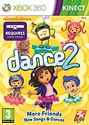 jaquette Xbox 360 Nickelodeon Dance 2