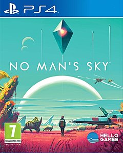 jaquette PlayStation 4 No Man s Sky
