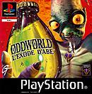 jaquette PlayStation 1 Oddworld L Exode D Abe