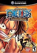 jaquette Gamecube One Piece Grand Battle