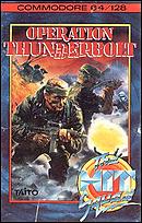 jaquette Commodore 64 Operation Thunderbolt