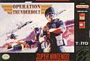 jaquette Super Nintendo Operation Thunderbolt
