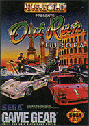 jaquette Game Gear OutRun Europa