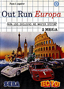 jaquette Master System OutRun Europa