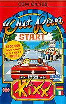 jaquette Commodore 64 OutRun