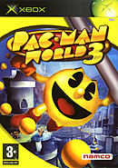 jaquette Xbox Pac Man World 3