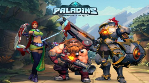 jaquette PlayStation 4 Paladins Champions Of The Realm