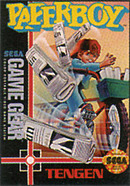 jaquette Game Gear Paperboy