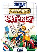 jaquette Master System Paperboy