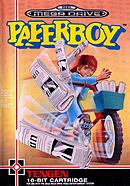 jaquette Megadrive Paperboy