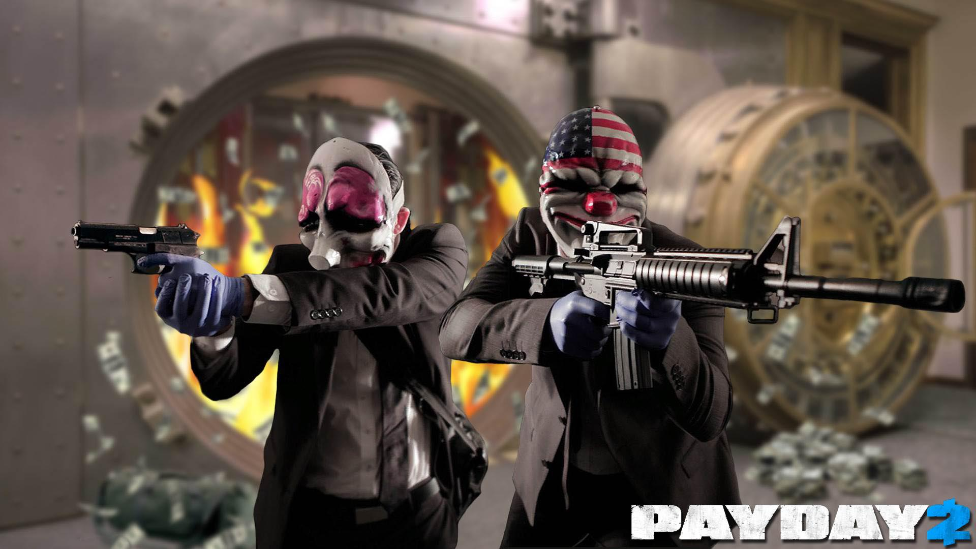 Wallpapers Fond D Ecran Pour Payday 2 Pc Ps3 Xbox 360