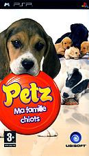 jaquette PSP Petz Ma Famille Chiots