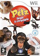 jaquette Wii Petz Singes Compagnie