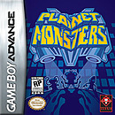 jaquette GBA Planet Monsters