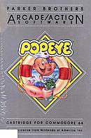 jaquette Commodore 64 Popeye
