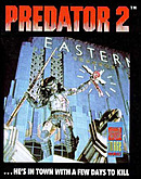 jaquette Commodore 64 Predator 2