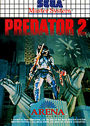 jaquette Master System Predator 2