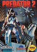 jaquette Megadrive Predator 2