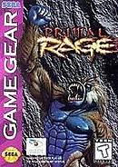 jaquette Game Gear Primal Rage