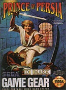 jaquette Game Gear Prince Of Persia