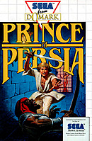 jaquette Master System Prince Of Persia