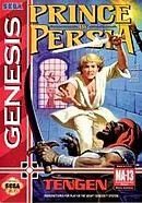 jaquette Megadrive Prince Of Persia
